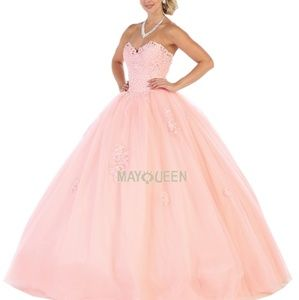 Formal ball gown,pageant quiencenara prom dres